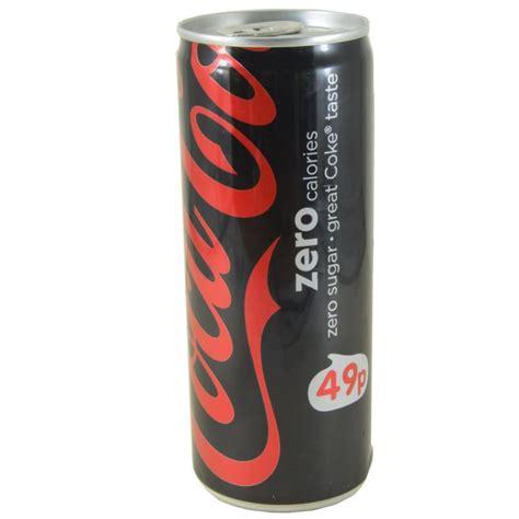 cuisine coca cola coca cola zero 250ml approved food