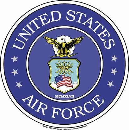 Force Air Clip Clipart Emblems Base Airforce
