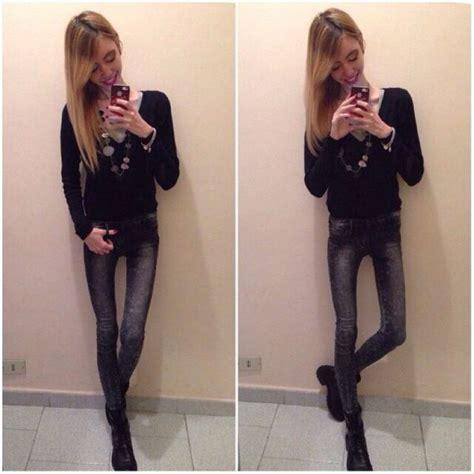 Very Skinny Girls Pics