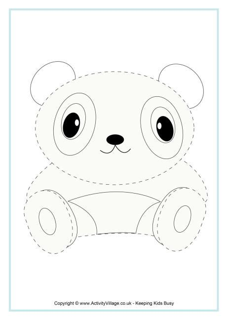 panda tracing page