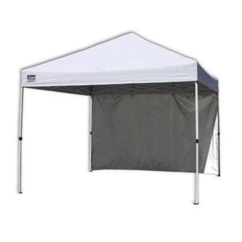 10 ft x 10 ft commercial white instant patio canopy with