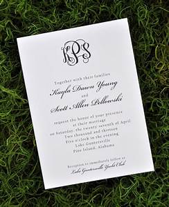 wedding invitations traditional wiregrass weddings With electronic traditional wedding invitations