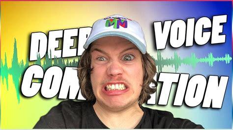 Maxmoefoe Deep Voice Compilation YouTube