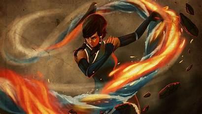 Avatar Airbender Last Korra State Desktop Background