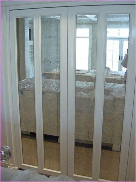 Mirrored closet doors bifold   Hawk Haven