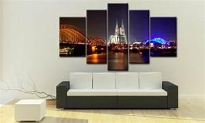 Dreiteilige Bilder Auf Leinwand : k ln bilder auf leinwand haus m bel k ln bild mehrteilig verschiedene ideen f r d ~ Orissabook.com Haus und Dekorationen