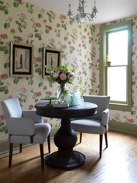 Decorating Ideas Wallpaper by Decorating With Botanical Wallpaper 31 Beautiful Ideas