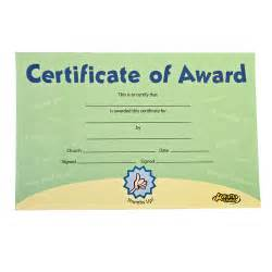Awana Award Certificates
