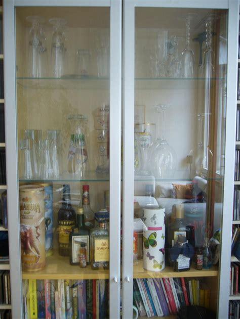 ikea billy vitrine ikea billy vitrine mit glas aluminium t 252 ren
