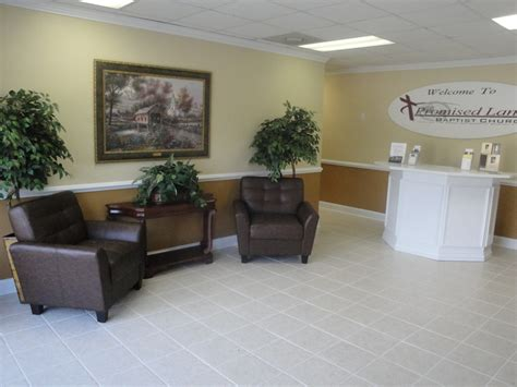 Church Foyer Designs by Promised Land Baptist Church View Our Church