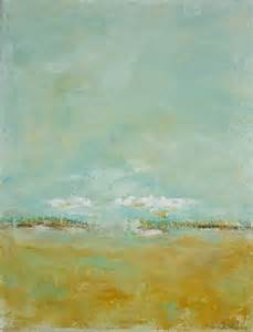Quiet Abstract Landscape Painting