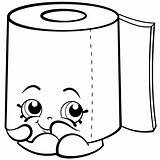 Shopkins Coloring Toilet Pages Paper Season Roll Leafy Printable Sweat Colouring Hopkins Drawing Clip Drawings Shopkin Printables Info Cartoon Sheets sketch template