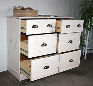Kleine Schränke Mit Schubladen : kommode 92x79x39cm 4 gro e 2 kleine schubladen kiefer massiv wei gewischt ~ Bigdaddyawards.com Haus und Dekorationen