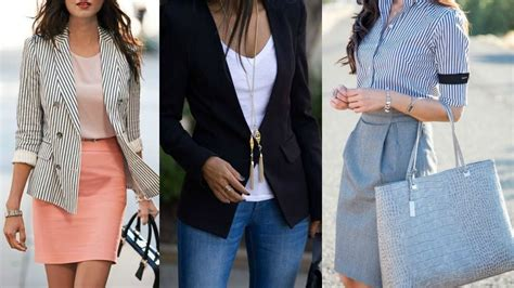 Outfits for Work (office) | Looks para ir a Trabajar (oficina) - YouTube