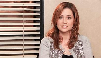 Pam Office Beesly Gifs Cast Jenna Fischer