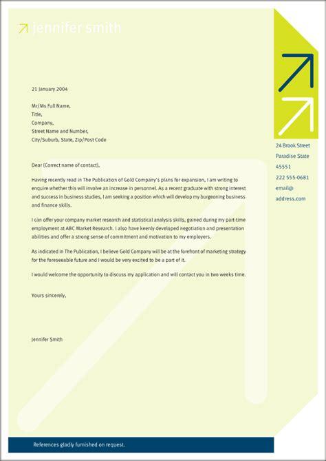 great cover letter student branding dan schawbel