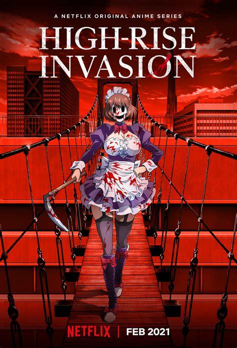 High Rise Invasion Survival Horror Manga Erhält Anime