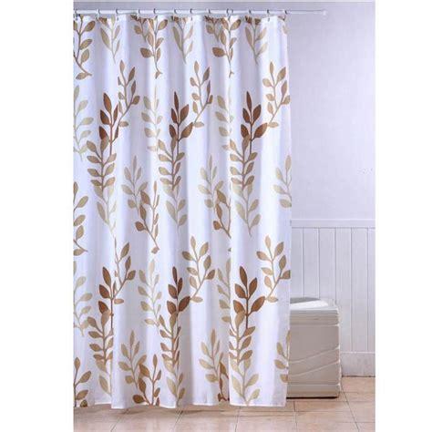 frandis rideau de textile feuilles beige achat vente rideau de cdiscount
