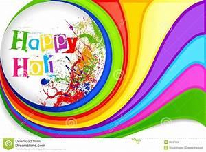 Holi Festival Background Design Royalty Free Stock Photo ...