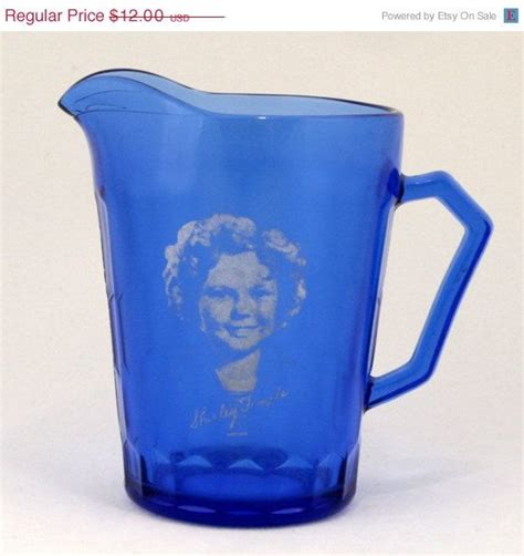 milk pitcher 1259 blue 1000 images about shirley temple on cobalt