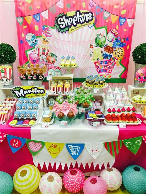shopkins birthday party ideas photo    catch  party