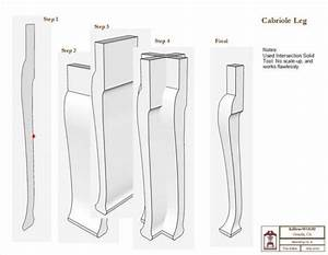 1000 images about leg cabriole on pinterest queen anne for Queen anne leg template