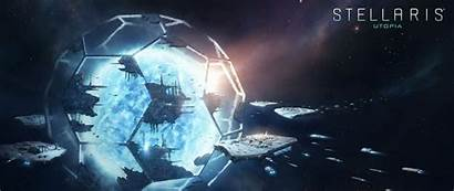 Stellaris Utopia Wallpapers Paradox Pimp Screen Interactive