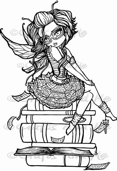 Coloring Pages Hannah Lynn Adult Fairy Colouring