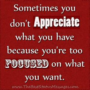 I Do Appreciate You Quotes. QuotesGram