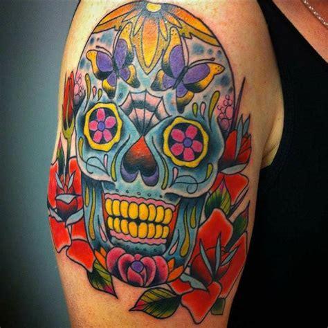 tatouage tete de mort mexicaine signification tendances
