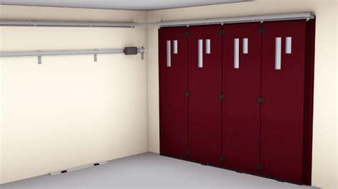 fen 234 tres porte de garage coulissante alu