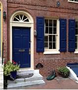 Navy Blue Front Door Paint by Door Inspiration Philadelphia Society Hill Historic Doors And Entrances