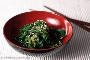 Japanischer Spinat Pflanze : japanischer spinatsalat mit sojasauce und sesam dreiminutenei ~ Frokenaadalensverden.com Haus und Dekorationen