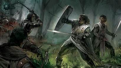 Knight Fantasy Knights Templar French Medieval Paintings