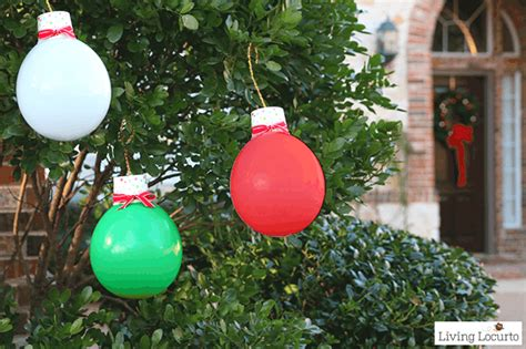 giant balloon christmas lights  ornaments