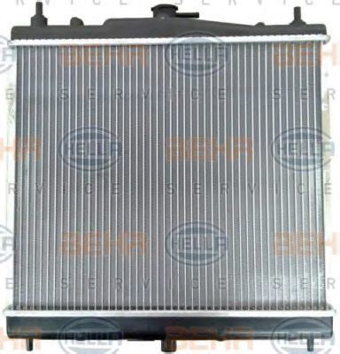 Renault Radiator Engine Cooling