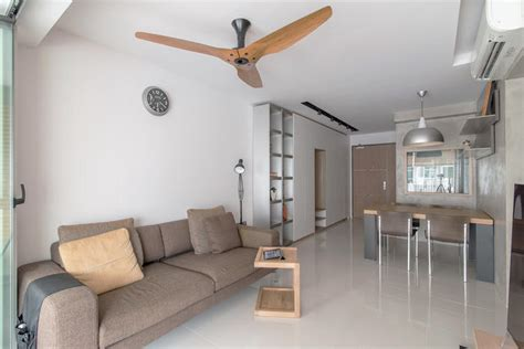 Grey Living Room Hdb by 5 Stylish Hdb Flat Living Rooms With White Walls And