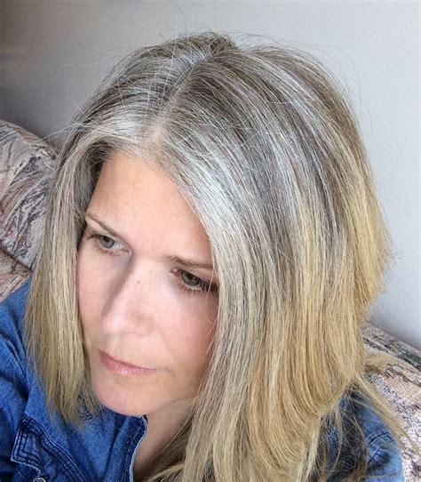 Coloring Hair Gray by 5 Reasons I Stopped Coloring My Hair Getting