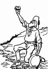 Rush Clipart Clip California Klondike Rushes Australian Miner Mining Coloring Svg Mine Sketch Panner Sheet Activity Log Register Cliparts Sheets sketch template