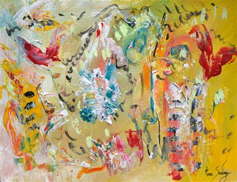 peinture moderne abstraite fleurs peinture abstraite contemporaine moderne artiste peintre contemporain ame sauvage