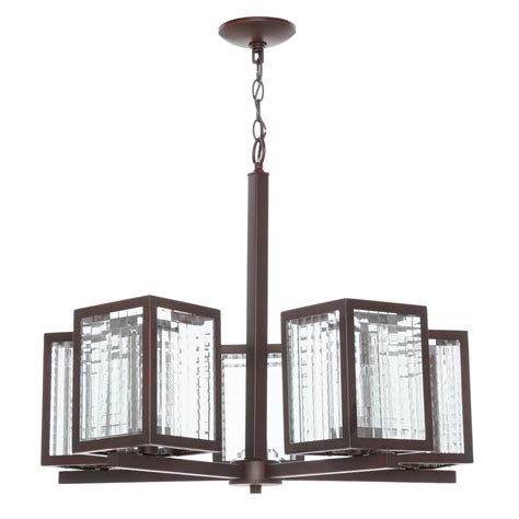 chandelier glass l shades home decorators collection 5 light oil rubbed bronze