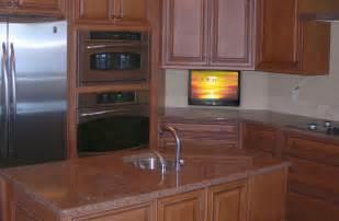 Small Kitchen Tv  Drop Down Tv In Kitchen  Nexus 21