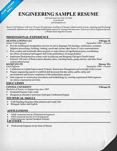 engineering sample resume resumecompanioncom resume With civil engineering resume examples