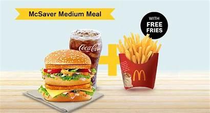 Fries Meal Mcdonald India Burger