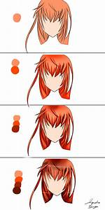 Anime hair tutorial (step by step) by JMTart on DeviantArt