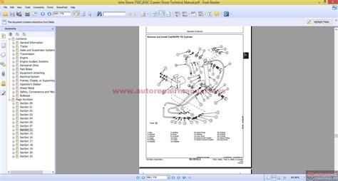 Deere 750c Wiring Diagram by Keygen Autorepairmanuals Ws Deere 750c 850c Crawler