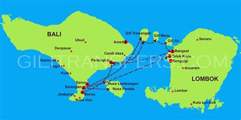 Boat From Gili T To Gili Air by Fast Boat From Bali To Gili Islands Lombok And Nusa