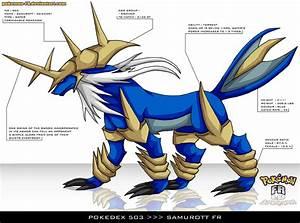 Pokedex 503 - Samurott FR by Pokemon-FR on DeviantArt