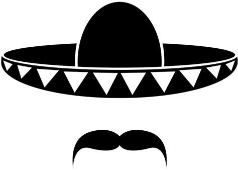 Sombrero Clip Sombrero Clip Black And White Clipart Collection