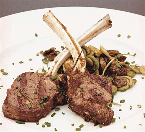 lamb rack recipe racks grilled presentation plated dishmaps pork cookbook